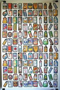 Topps Wacky Packages 1979 Mint Uncut Sheet 132 Stickers 2 Complete Sets