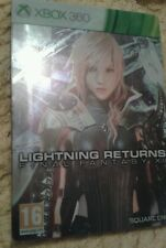 Final Fantasy XIII Lightning Returns limited Edition Steelbook VGC Xbox 360 RARE