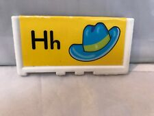 Fisher Price Little People ABC Delivery Truck Replacement Letter H & O Free Ship
