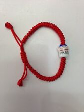 FENG SHUI RED STRING  BRACELET WITH LUCKY CAT FOR GOOD FORTUNE WEALTH LUCK