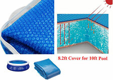 Swimming Pool Heating Floating Solar Cover Summer, Beach, Garden, Outdoor -8.2ft