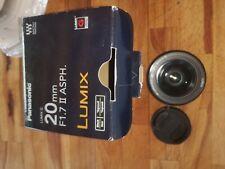 Obbiettivo Panasonic Micro 4/3