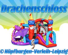 """Hüpfburg """"DRACHENSCHLOSS"""" deutschlandweit zu mieten (Wochenendpreis, 2 Tage)"""