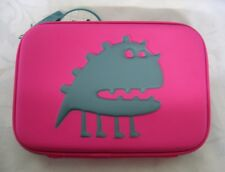 PUKKA Pad Large Hard Shell Pencil Case. 22cm Length 2 HB Pencils With 6 Eraser