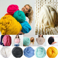250g Chunky Bulky Wool Yarn Giant Ball Extreme Knitting Hand DIY Hat Scarf Gift