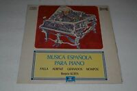 Musica Espanola Para Piano~Beatriz Klien~Marfer M 50-217~Madrid IMPORT