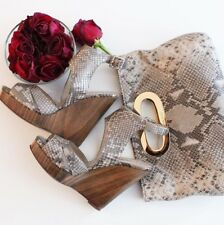 MICHAEL KORS SNAKE SKIN POCHETTE / CLUTCH IN NEW/ EXCELLENT COND.