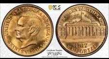 1917 PCGS MS64 McKINLEY GOLD DOLLAR COMMEMORATIVE