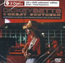Dickey Betts & Great Southern - Live Rock & Roll Hall of Fame CD&DVD NEW SEALED