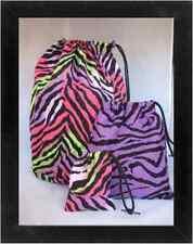Gymnastics Leotard Grip Bags / Multi Zebra SET Gymnast Birthday Goody Bag