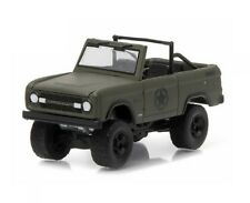 Greenlight 1/64 1977 Ford Bronco Military Tribute Sarge Diecast Model (29842)