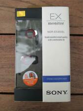 Sony Earphones MDR-EX300SL RED - New in Sealed Box