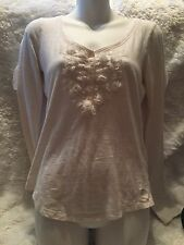 Abercombie Fitch White Top Size Small