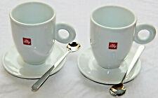 2 Tazze +2 Cucchiaini illy Thun 2 Cups +2 Theaspoon Caffè Cappuccino Latte Thè
