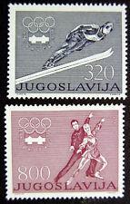 JUGOSLAVIA 1976: OLIMPIADI INNSBRUK SERIE COMPLETA NUOVI COME DA FOTO