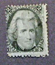 1861-62  BLACKJACK  Scott #73 Civil War US stamp  -  Used