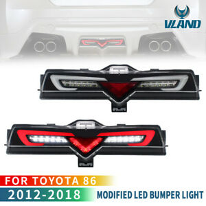 For 13-18 TOYOTA 86 SUBARU BRZ LED Reverse Light Brake Fog Light Lamp