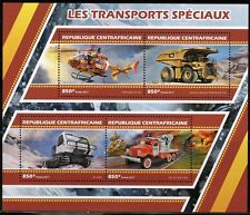 CENTRAL AFRICA 2017 SPECIAL TRANSPORT  SHEET MINT NH