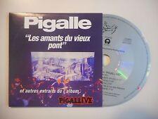PIGALLE : LES AMANTS DU VIEUX PONT [CD SINGLE PORT GRATUIT]
