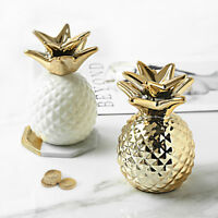 Nordic Golden Pineapple Coin Holder Home Decoration