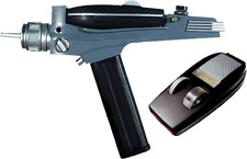 Toy Replicas--Star Trek: The Original Series - Black Handled Phaser