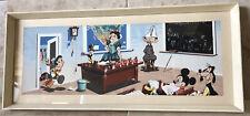 Walt Disney 1957 Serigraph Original Signed Art Picture Bunnell Snow White