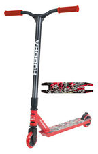 Hudora XQ-13 Roller Freestyle Scooter rot schwarz 14026 Free Style Stuntscooter