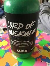New LUSH 'Lord Of Misrule' Shower Cream/Gel HUGE 500g Bottle