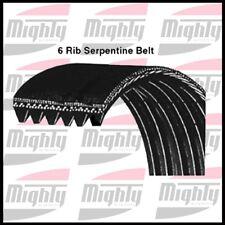 Serpentine Belt Mighty 6K980 GM/AUDI/CHRYSLER  1983-95