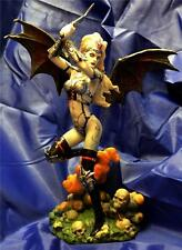 Nemesis Now  DAUGHTER OF SATAN - 26cm tall Gothic WARRIOR ANGEL FIGURE
