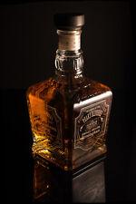 Peaky Blinders Jack Daniels Single Barrel Empty Engraved Bottle - FREE UK Post