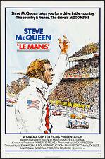 "Poster Le Mans 1971 27""x41"" NM 9.0 Steve McQueen Movie"