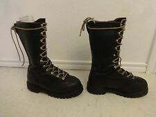 GEORGIA BOOTS STEEL TOE SZ 7M MEN THINSULATED 400 MED LEATHER MOTORCYCLE GORETEX