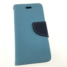 iPhone 5C High Quality Luxury Leather Flip Wallet Cover Case Credit Card Slots