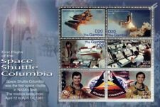 1981 First Flight of NASA Space Shuttle COLUMBIA Stamp Sheet (2006 Gambia)