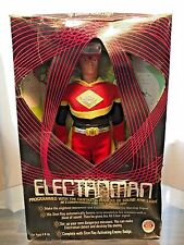 1977 IDEAL ELECTROMAN ACTION FIGURE COMPLETE W/ BOX ELECTRO MAN DOLL