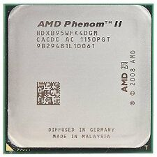 AMD Phenom II X4 B95 3.0GHz 4x512KB/6MB L3 Socket AM3 Quad-Core CPU