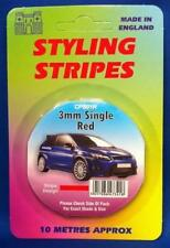 Self Adhesive Car Pin Stripe Coach Tape Syling Stripe Red 3mm x 10mtr