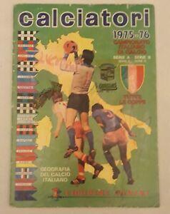 Calciatori Panini 1975 76 Album Figurine Non Completo