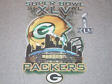 Green Bay Packers Super Bowl XLV Champions NFL T-Shirt Mens XL