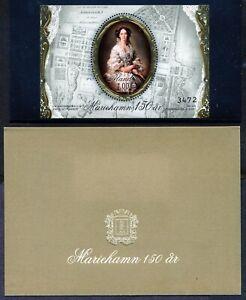 Aland 313 2011 Mariehamn Princess Marie Alexandrovna Gold Embossed S.S.  NH