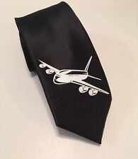 Airplane Necktie, Commercial Jet, Pilot, New