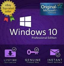 Win 10 Professional 32/64 bit Genuine License Key Fast delivery🔑