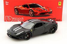 Ferrari 458 Speciale schwarz 1:18 Bburago Signature