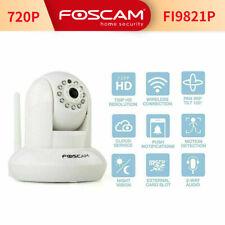 Foscam FI9821P HD 720P Wired/Wireless Camera Baby Monitor Pan Tilt Two-way Audio
