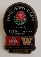 2019 Rose Bowl Washington Huskies vs Ohio State Football Dueling Pin / Button