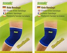 2 UNIVERSAL Sportbandage Kniebandage Knie Gelenk Schoner Stütz Bandage Bandagen