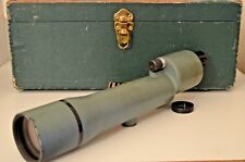 Vintage Bausch Lomb 20X Spotting Scope USMC AIMC with Case Military