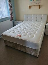 Double bed and headboard.The bed is pristine clean, in Excellent Condition