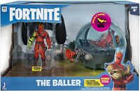 """Fortnite Deluxe RC Baller Vehicle with 4"""" Hybrid Articulated Figure & 4"""" Baller"""